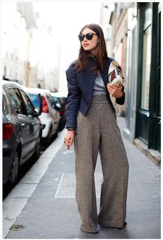 Love these wide pants!
