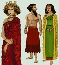 História da Indumentária - Povos Mesopotâmicos - Blog Chá com Estilo