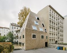 wohnhaus im innenhof | berlin-prenzlauer berg | barkow leibinger | 2016