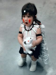 Princess Mononoke Cosplay Toddler Cosplay ideas Baby Costume ideas  sc 1 st  Pinterest & PRINCESS MONONOKE COSTUME ? COSPLAY TUTORIAL! - YouTube   costumes ...