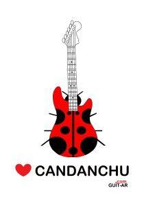 Love Candanchu guitar by Juan Ponte