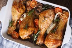 Roasted Chicken Drumsticks With Herb-Garlic Rub | The Dr. Oz Show