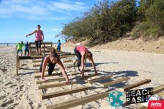 Beach Bash Obstacle Races, Fun Workouts, Racing, Events, Beach, Fitness, Ideas, Running, Seaside