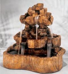 Medium Rock Falls Fountain