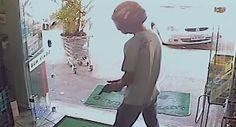Ignorou arma de ladrão porque tinha de fazer compras