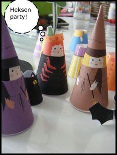 Heksen voor halloween!