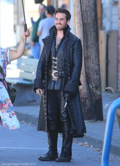 Colin O'Donoghue as Captain Hook | Once Upon A Time