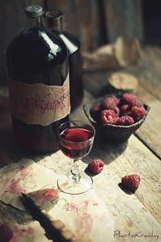 Raspberry tincture