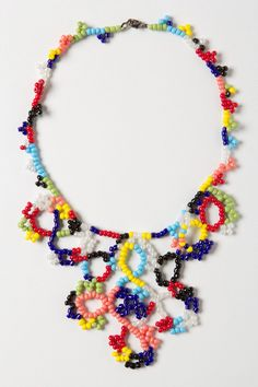 Looped Spectrum Necklace - Anthropologie.com