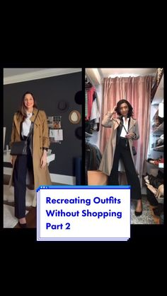 When I spot style inspiration this is how I find similar items in my existing wardrobe! I love being able to recreate outfits using my own clothes. Best Fashion Apps, Closet App, Office Style, Office Fashion, Office Outfits, Work Clothes, Classic Style, Real Life, Cute Outfits