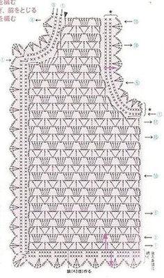 Freeform Crochet - Como fazer um Vestido em tecido e crochê para Bebe