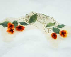 Use for felted flowers