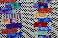 Quilt Kit Stack it up by Lynne Wilson Designs using Kaffe