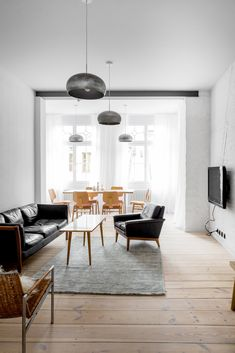 A Holiday Apartment in Poland With the Perfect Mix of Vintage and Custom Furniture - Dwell