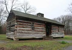 A Cabin Constructed In The Style Of The Early 1800u0027s. Meriwether Lewis  Monument At Natchez