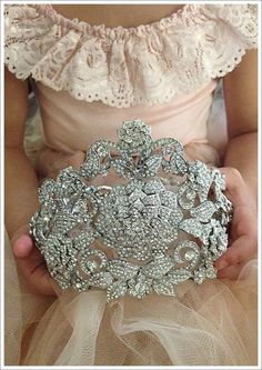 Gorgeous!  Made from a very large brooch