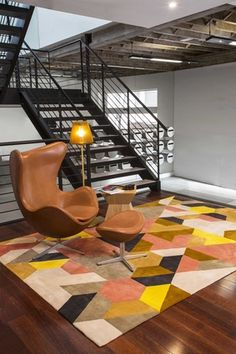 Berlin, part of the Bleux Neighbourhood collection from Designer Rugs.