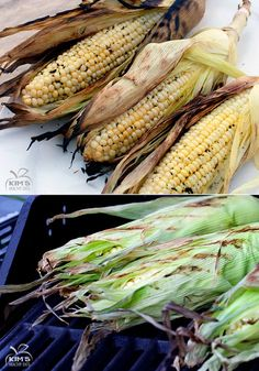 Grilled Corn on the Cob. Doing this for dinner tonight.