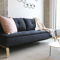 Sofa BedSleeper Sofa Montreal Sofa Bed Double Periwinkle Sofa beds Pinterest Products Beds and Sofa beds