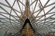 The Cutty Sark 'was sort of the Concorde of its age' says architect Nicholas Grimshaw. 'It was an amazingly fast ship'