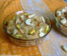 Sweet Vermicelli Sweet Vermicelli (Mithi Seviyan) is a traditional dish relished as a special dessert of various festivals in . Vermicelli Recipes, Potato Salad, Rice, Potatoes, Dishes, Ethnic Recipes, Sweet, Desserts, Food