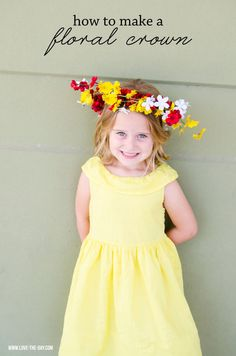 How To Make A Flower Crown by Michaels Makers Love The Day
