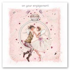 Cards » On your Engagement » On your Engagement - Berni Parker Designs