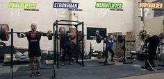 Concours de Squat : Haltérophile vs Strongman vs Culturiste vs Powerlifter !