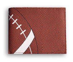 Zumer Sport Football Men's Wallet Made From Real Football Material #zumersport #footballwallet #football #wallet #menswallet