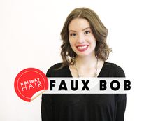 The Faux Bob: How to Get Shorter Hair With No Commitment   Beauty High
