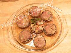 Magic Cooking Time | Blog o gotowaniu: Zapiekane pieczarki z mięsem
