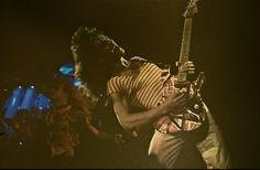 1980 tour photo of Edward Van Halen found in a Nashville photography shop