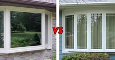 Bay Windows vs. Bow: What's the Difference?