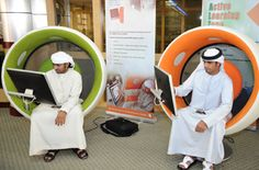 sonic chair at Higher Colleges of Technology AbuDhabi 2010