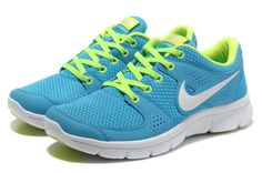 sports shoes fc86e 1e1e1 Womens Nike Flex Experience Run Blue Volt White Shoes Nike Free Run 3, Free  Runs