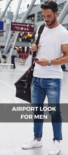 22 trendy travel outfit men airport style Best Picture For Airport Outfit long flight For Your Taste You are looking for something, and it is goi Airport Outfit Long Flight, Airport Travel Outfits, Travel Accessories For Men, Outfits Hombre, Mens Fashion Blog, Style Fashion, Man Fashion, Fashion Art, Fashion Outfits