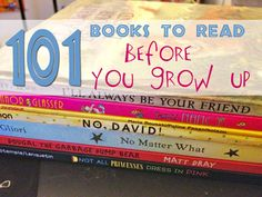 101 Picture Books To Read Before You Grow Up on http://www.feelslikehomeblog.com