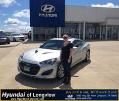 Had a wonderful experience at Hyundai of Longview. Our salesperson, Tim O'Farrell, was outstanding all around. He helped me choose the perfect car for my taste and price range and was very knowledgeable. While negotiating a final deal, Tim was attentive, even when he was not directly involved in a particular part of the car buying process. All of the staff was friendly, and Tim played a vital role in helping me drive away in a car I love.  Patricia Cecil-Reed Monday, June 09, 2014