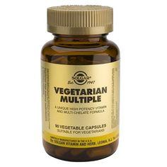Múltiple para vegetarianos 90 cápsulas – Herbolario Oriente