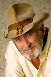 See Don Williams perform two concerts at the Country Tonite Theater in Pigeon Forge on October 18th and 19th at 8:00 pm. For more information, call 1-800-792-4308 or visit firstclassconcerts.com