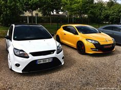 RSS Feed Starring: Ford Focus RS and Renault Megane RS by Scuderia Phoenicia