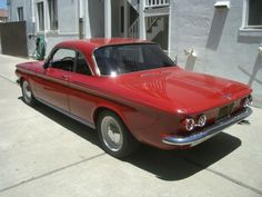 1963 Chevrolet Corvair Monza Spyder Turbo For Sale Rear