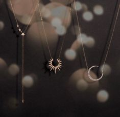 Celestial jewelry is a trend carrying over from 2018 into and we are over the 🌒 about that! ⠀⠀⠀⠀⠀⠀⠀⠀⠀ From the stars✨ and moon 🌒to the sun☀️ we have something fitting you ethereal goddesses! Women Accessories, Jewelry Accessories, Fashion Accessories, Jewelry Design, Fashion Jewelry, Cute Jewelry, Jewelry Box, Jewelry Necklaces, Jewlery