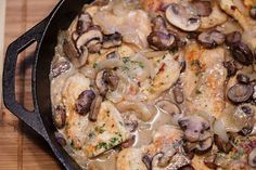 chicken and mushroom marsala recipe