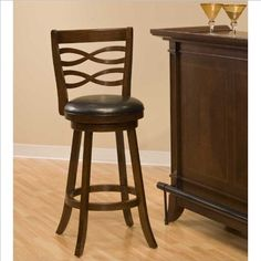 Hillsdale Elkhorn Swivel Bar Stool