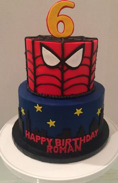 Pasteles para fiesta de batman 18 Batman Batman cakes and Cake