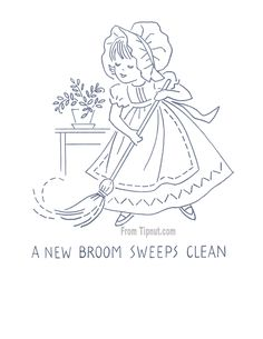 Kitchen Proverbs Embroidery Patterns – Complete Set : TipNut.com