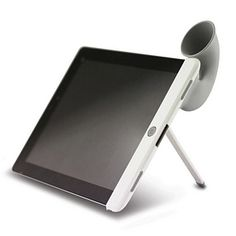Bone Collection Bone Horn Stand for iPad 2 - mom???