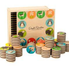 DwellStudio - Woodland Memory Game at West Coast Kids