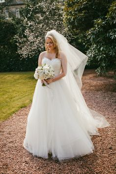 Princess dress, bride style, classic bride